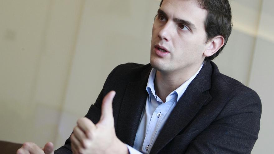 El candidato de Ciudadanos a la presidencia del Gobierno, Albert Rivera.