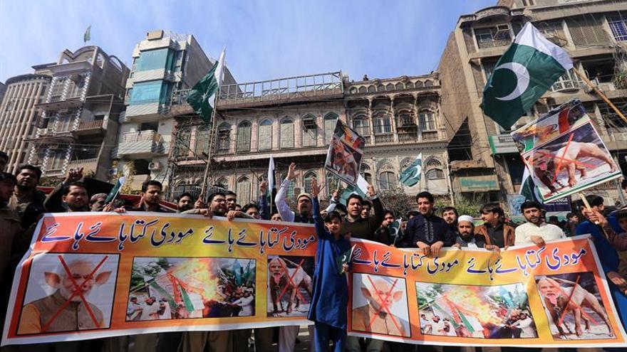 El Gobierno de la India confirma un ataque aéreo en territorio paquistaní