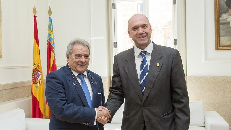 Alfonso Rus y Evarist Aznar