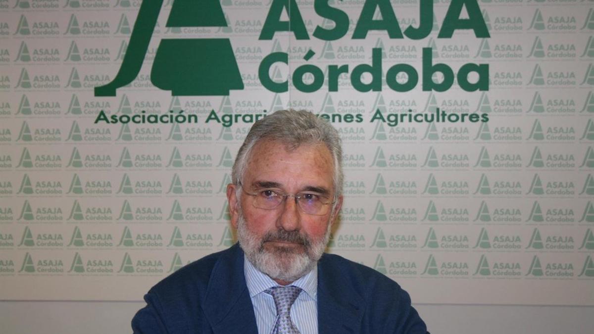 El presidente de Asaja Córdoba, Ignacio Fernández de Mesa, en una imagen de archivo.