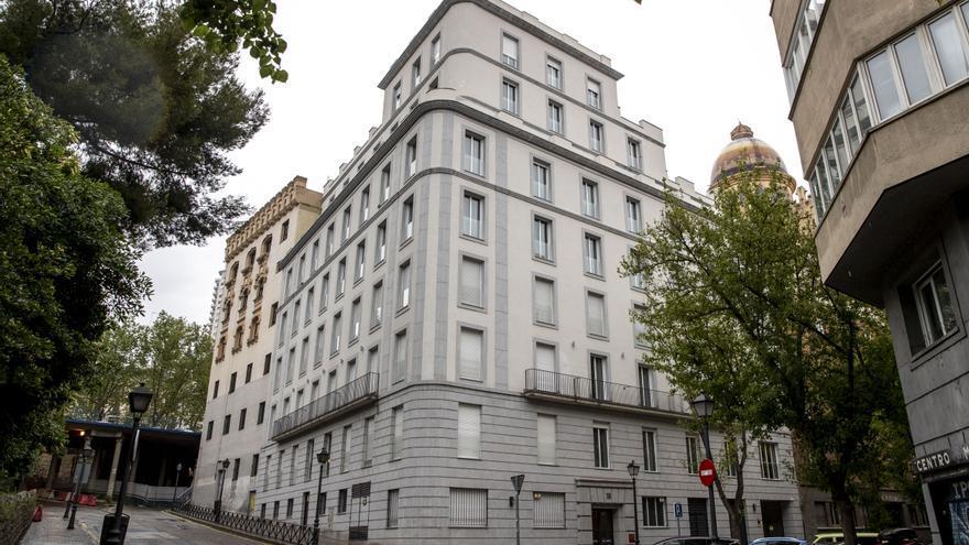 Hotel Be Mate Plaza España donde se aloja Isabel Díaz Ayuso