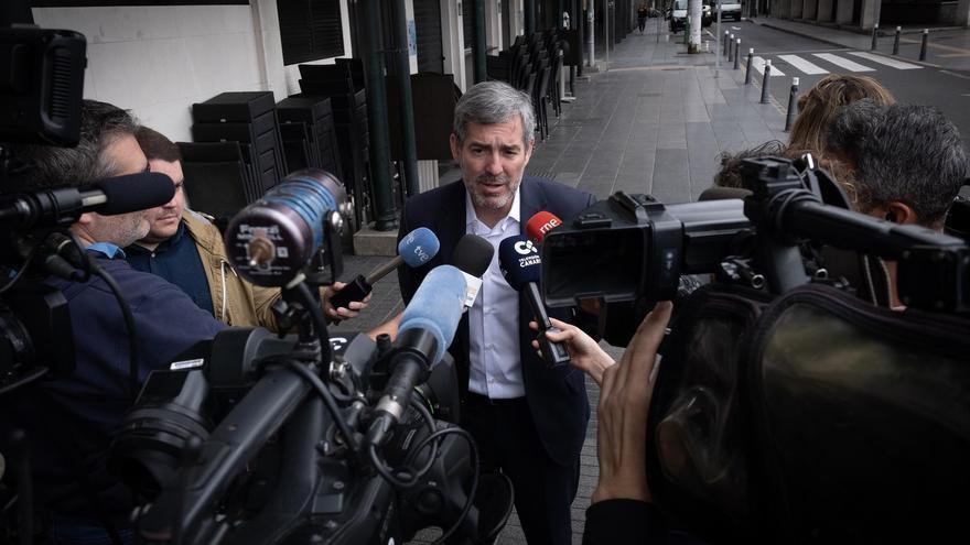 Fernando Clavijo, presidente en funciones de Canarias