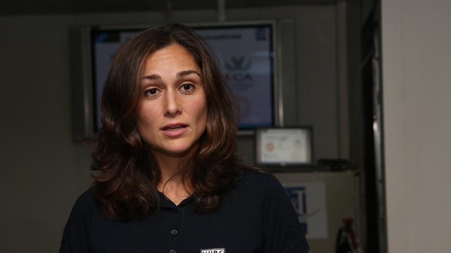 Violeta Sanjuan, responsable científica de CMRE ALOMEx'15 (ALEJANDRO RAMOS)