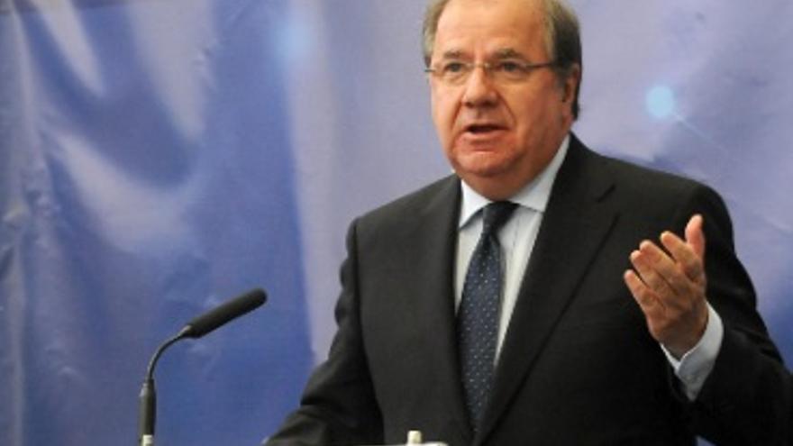 El presidente de la Junta de Castilla y León, Juan Vicente Herrera.