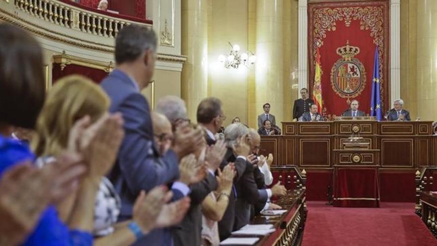 Sesión de constitución del Senado.