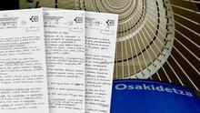 Los exámenes de la OPE de Osakidetza