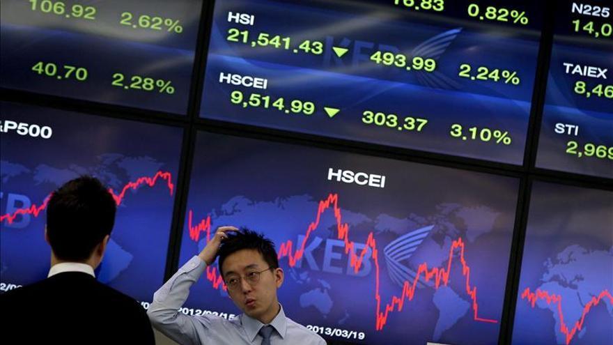 El Kospi surcoreano sube un 0,46 por ciento hasta los 2.001,91 puntos