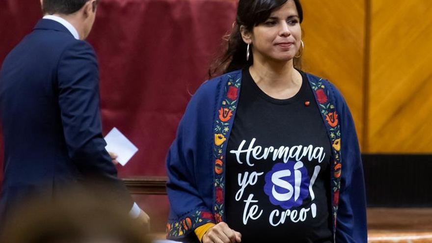 """Adelante Andalucía critica la """"complicidad con los asesinatos machistas"""" de Vox"""