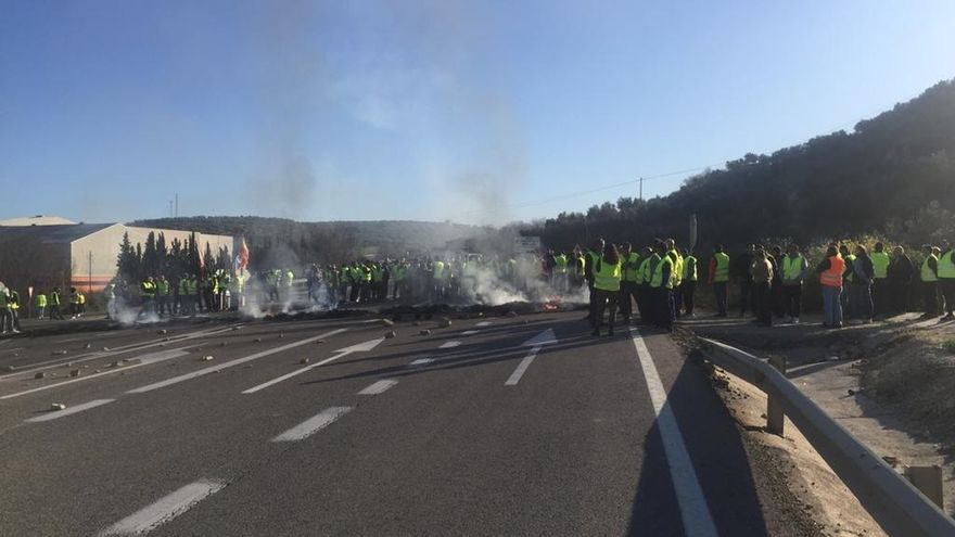Vuelve la normalidad a las carreteras tras levantarse todos los cortes por las protestas de olivareros