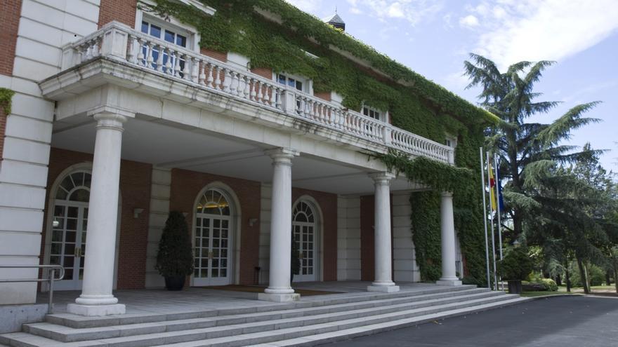 Vista del Palacio de la Moncloa.