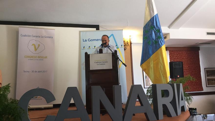 Víctor Chinea ha sido reelegido este domingo secretario insular de Coalición Canaria (CC) en La Gomera.