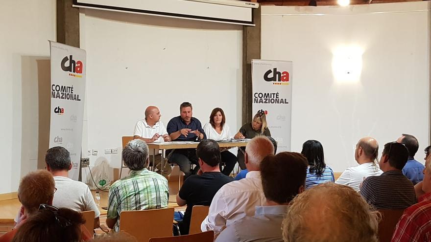 El Comité Nazional de Chunta Aragonesista ha aprobado que la formación concurra el 10N con Más País