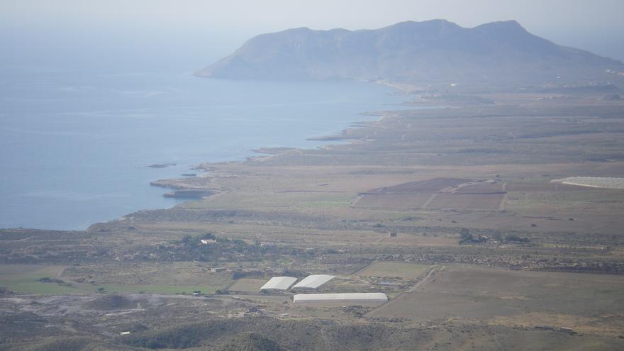 Enclave de Marina de Cope donde estaba previsto construir el macrocomplejo turístico.