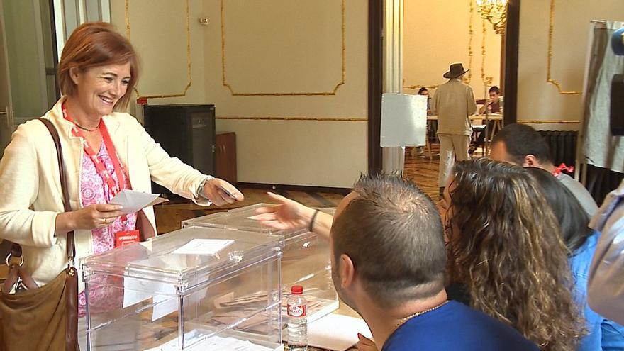 Puerto Gallego, candidata del PSOE por Cantabria.
