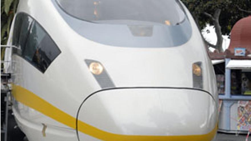 Maqueta del tren de Gran Canaria. (CANARIAS AHORA)
