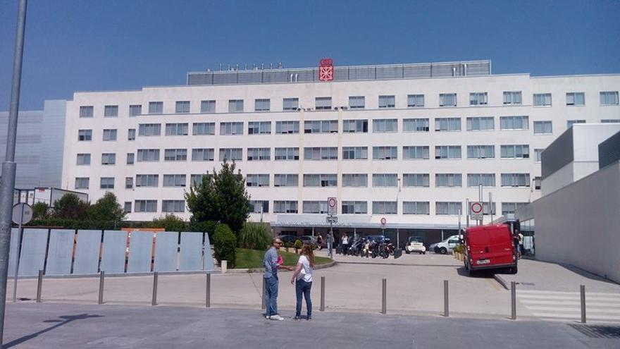Hospital Virgen del Camino, en Pamplona.