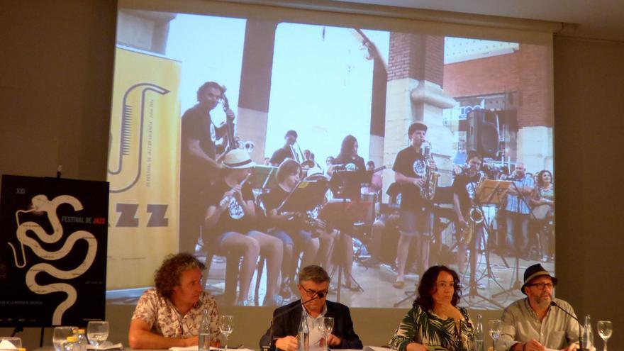 Presentación de la XXI edición del Festival de Jazz de Valencia