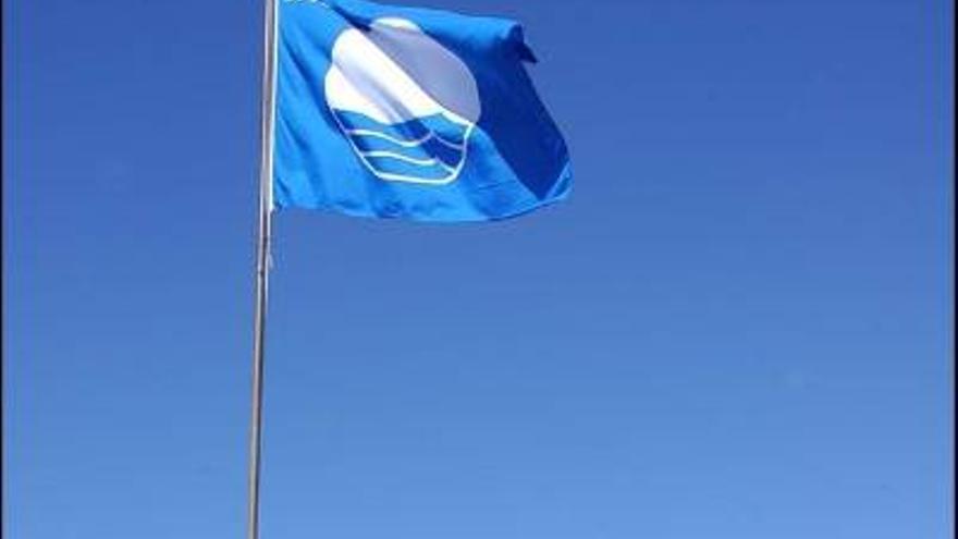 Cinco playas de La Palma  han vuelto a conseguir el galardón de  Bandera Azul.