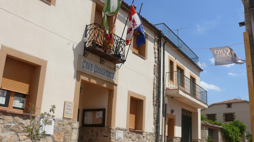 Ayuntamiento de Sotosalbos (Segovia) donde se ha empadronado Javier Maroto.