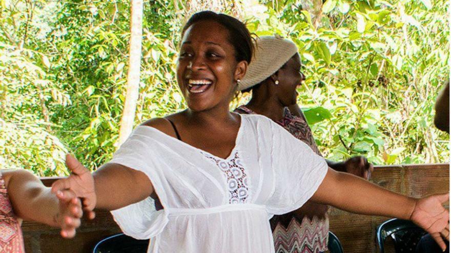 Emilsen Manyoma, lideresa de una comunidad afrodescendiente cuyo cadáver fue hallado junto al de su pareja el 17 de enero en Buenaventura