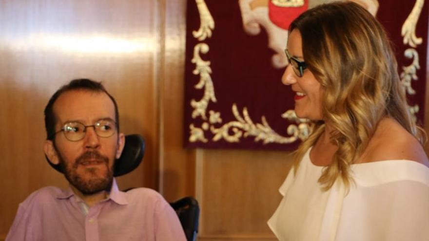 María Díaz, el 11 de agosto de 2017, tomaba posesión de su escaño en las Cortes regionales