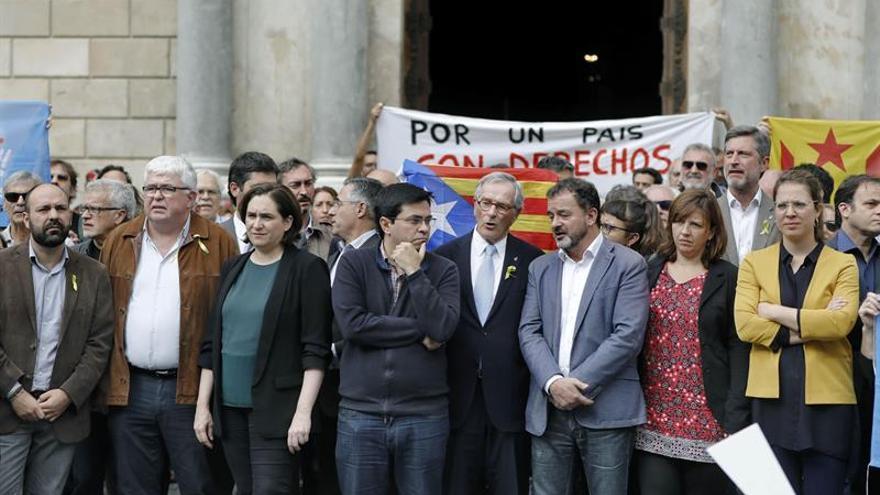 Barcelona celebrará mañana un pleno extraordinario por los encarcelamientos