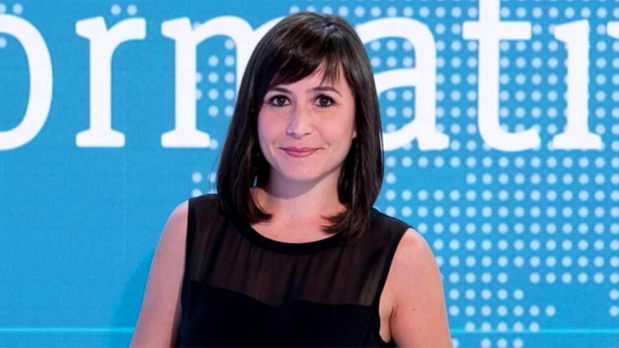 Silvia Laplana, meteoróloga de RTVE
