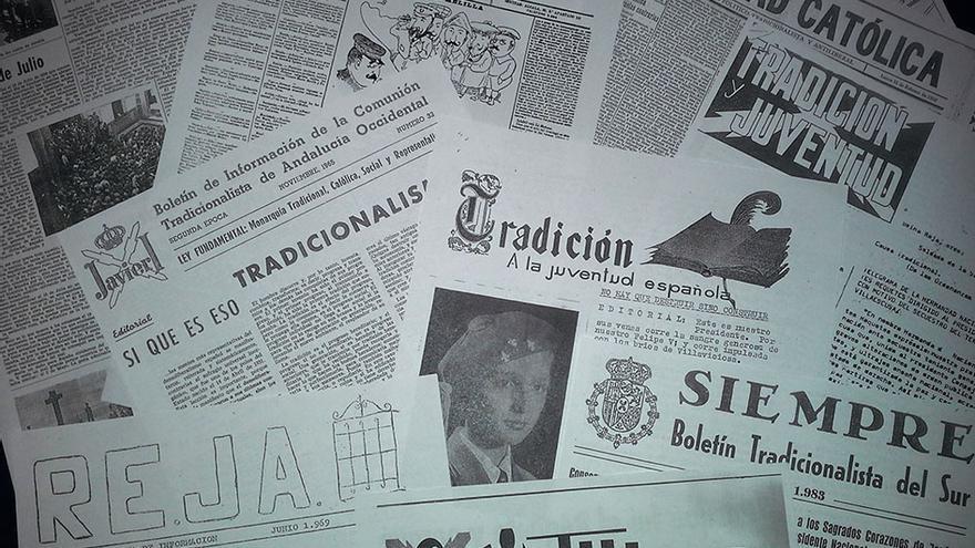 Prensa carlista del siglo XX. / CAÍN SOMÉ