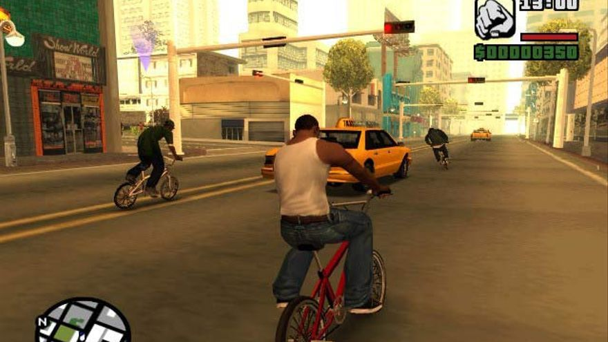 Una captura del GTA San Andreas