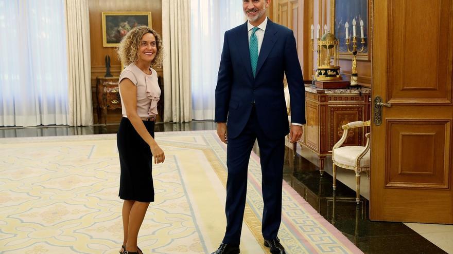 Meritxell Batet volverá mañana a Zarzuela para sellar el decreto del Rey de convocatoria de elecciones