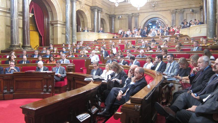 Puigcercós se despide del Parlamento catalán emocionado por ver abierto el camino a la independencia