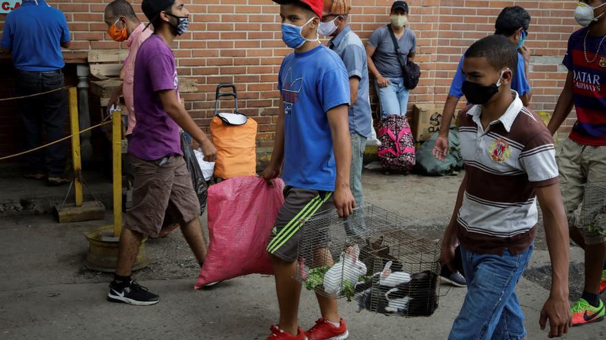 Venezuela supera por quinto día seguido los 1.000 nuevos casos de COVID-19
