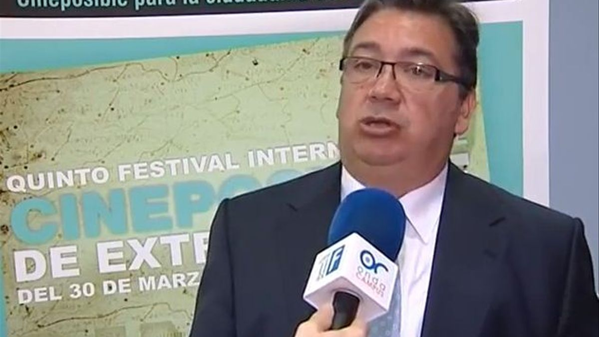 José María Ramírez, alcalde de Almendralejo