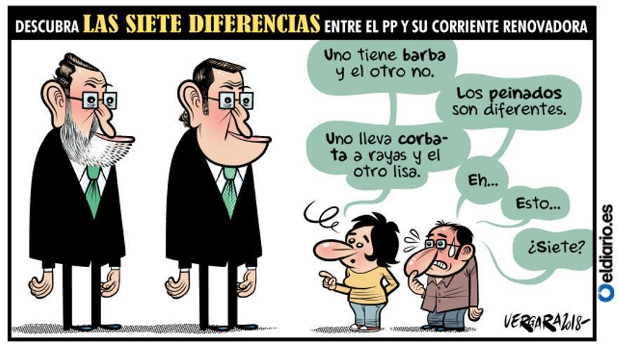 Las siete diferencias
