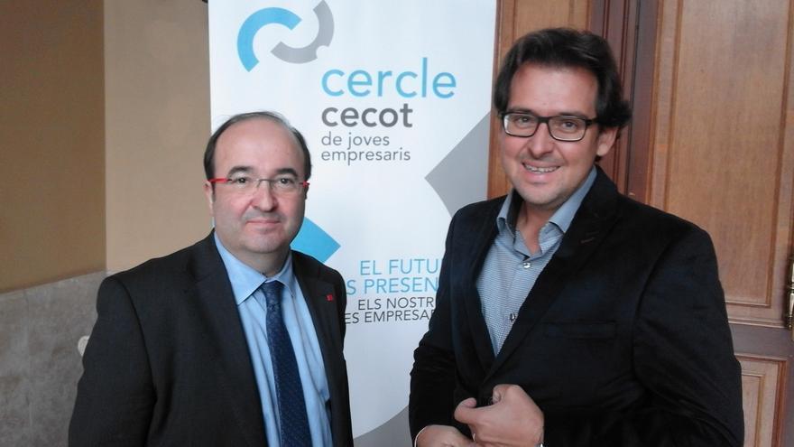"""Iceta lamenta ante empresarios que el proceso soberanista """"acapare todo el interés"""""""