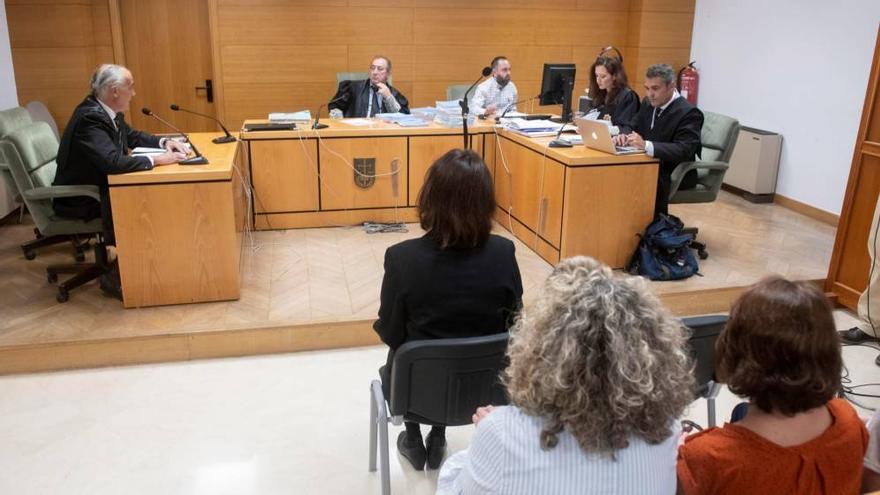 Juana Rivas ante el juez Manuel Piñar.