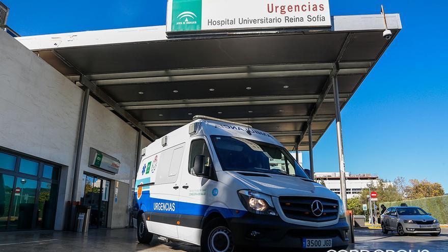 Entrada a Urgencias del Hospital Universitario Reina Sofía | ÁLEX GALLEGOS