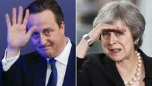 """""""Lo siento mucho por May"""": Cameron activó el Brexit para unir el partido y acabó reventándolo"""