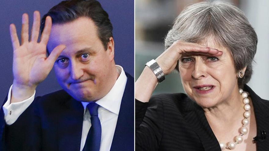 David Cameron / Theresa May
