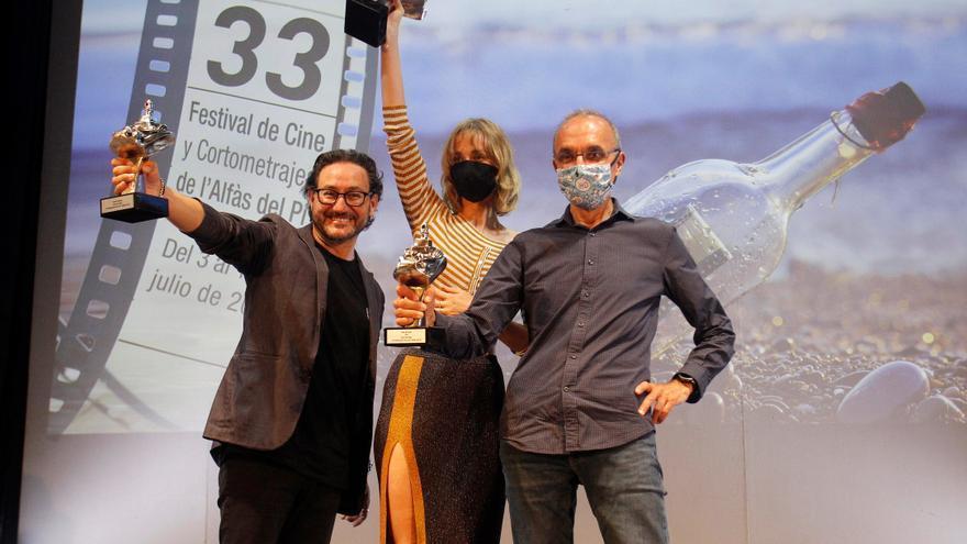 Premian a Ingrid García-Jonsson, Carlos Santos y el programa 'Días de Cine'