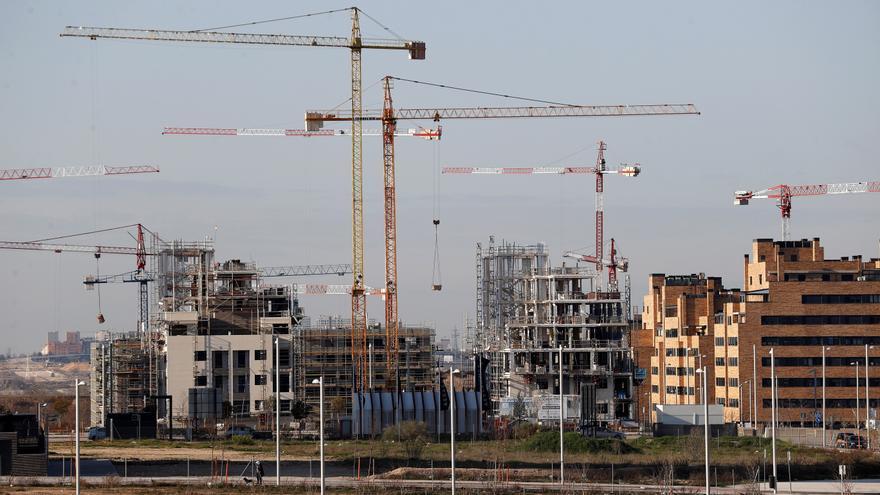 La producción en la construcción sube el 0,9 % en la eurozona y el 0,7 % en la UE en mayo