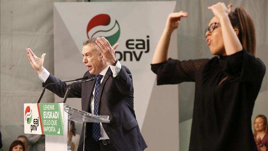 El PNV despide la campaña pidiendo el voto de todos los abertzales
