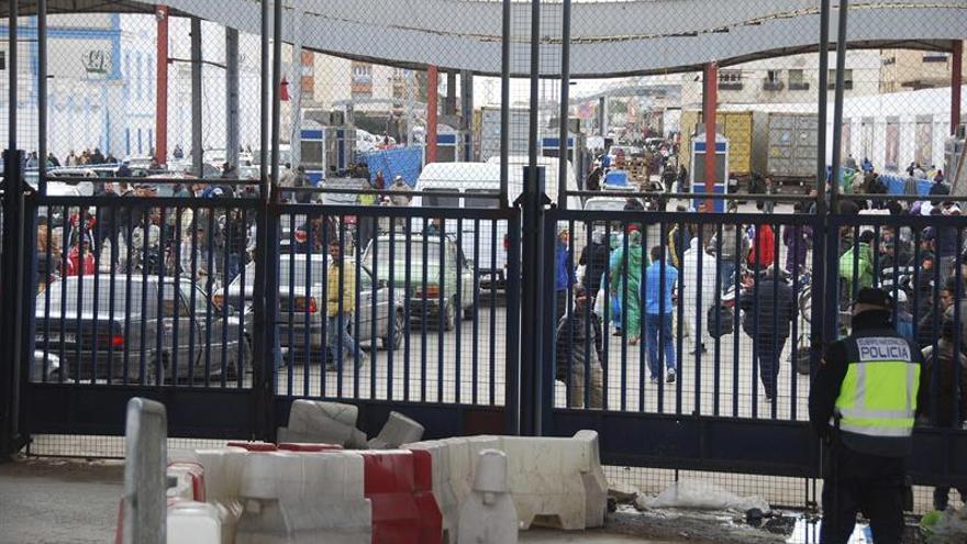 Dos detenidas en Melilla con un bebé oculto en bolso con síntomas de asfixia