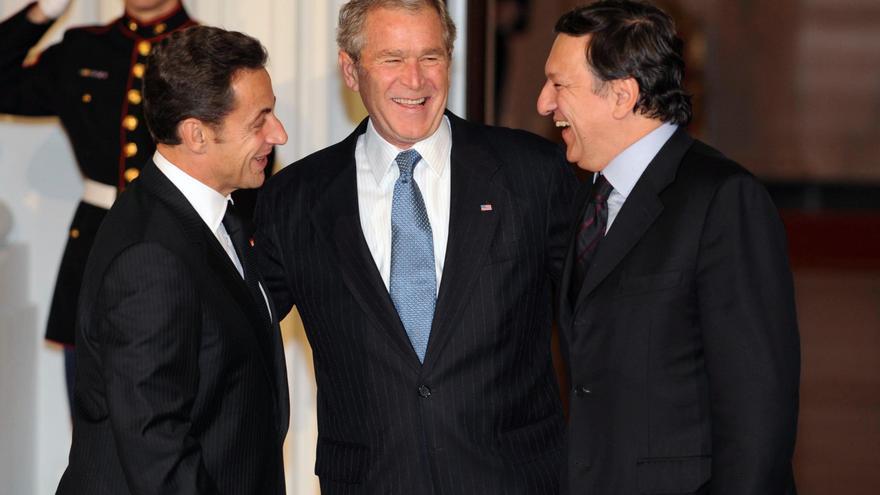 En el G-20 de 2008 Nicolas Sarkozy prometió la refundación del capitalismo.