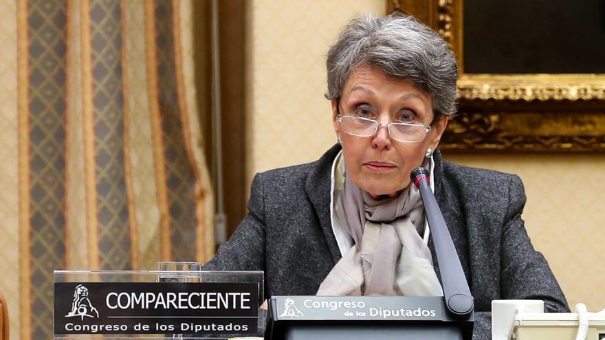 Rosa María Mateo en el Congreso (Archivo)
