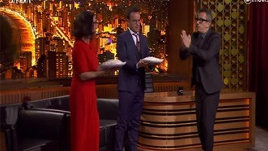 Buenafuente desvela el secreto compartido de Llàcer y Silvia Abril, que se 'vengan'
