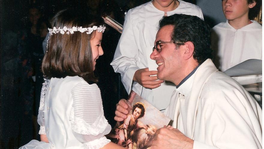 En la imagen, el sacerdote Juan Pérez Álvarez.