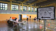 Recorrido por la zona más afectada por el brote de coronavirus en A Mariña el día de las elecciones