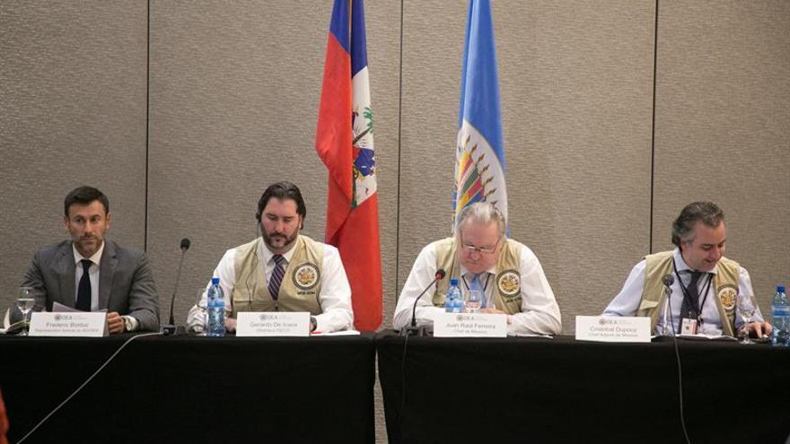 La OEA pide calma a políticos de Haití y respeto a las normas del proceso electoral