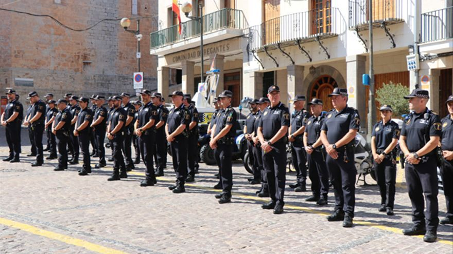 Agentes de policía local